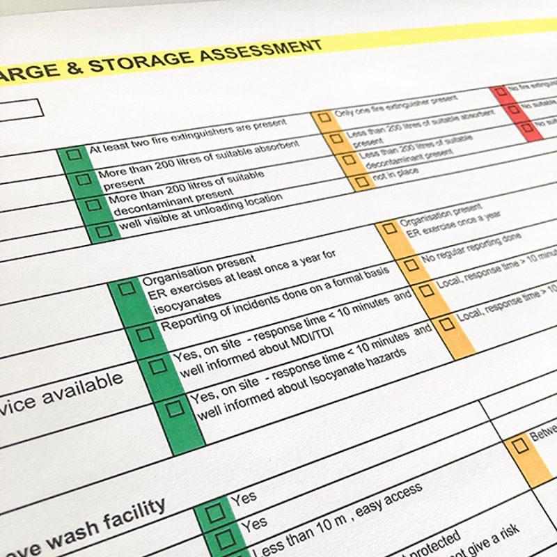 Ablauf Tank Farm Assessment Puring.de